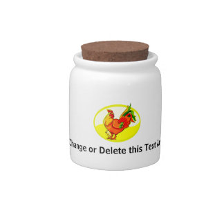 rooster with chick yellow oval.png candy jars
