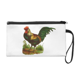Rooster Wristlet Purse