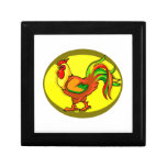 rooster yellow background chicken.png gift box