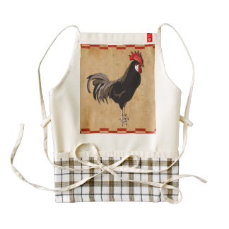 Rooster Zazzle HEART Apron
