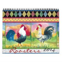 Roosters 2014 calendar