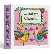 Roosters and Chicks - SRF Binder