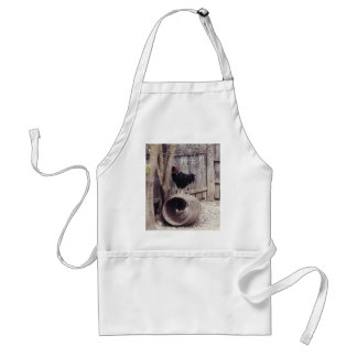 roosters - apron