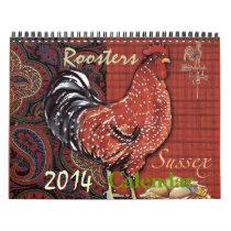 Roosters calendar
