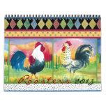 Roosters Calendar 2013