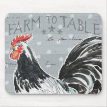 Roosters Call III Mouse Pad