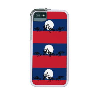 Roosters fighting / Laos flag Case For iPhone SE/5/5s