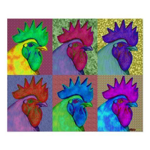 Roosters Gone Wild! Poster