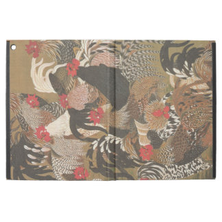 Roosters Japanese painting Rooster Year 2017 IPAD iPad Pro Case