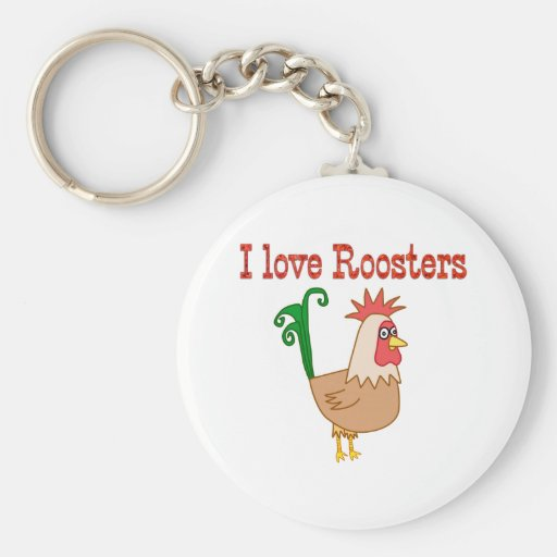 Roosters Keychain
