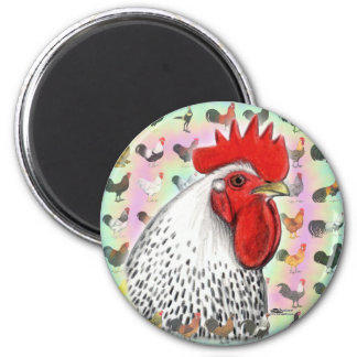 Roosters! Magnets