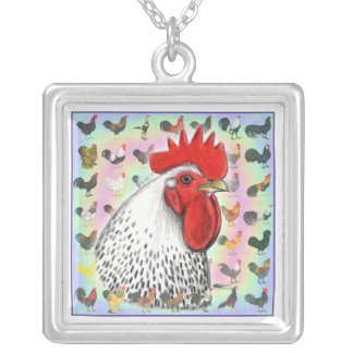 Roosters! Pendants