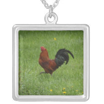 ROOSTERS RULE!- necklace