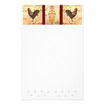 Roosters Shopping List Stationery