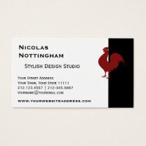 RoosterSilhouette.png Business Card