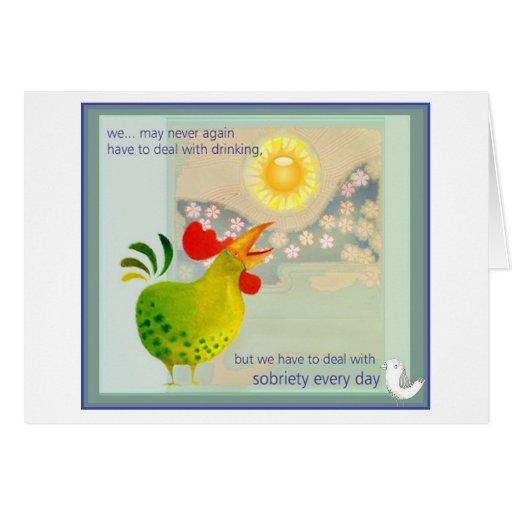 roostyer greeting card