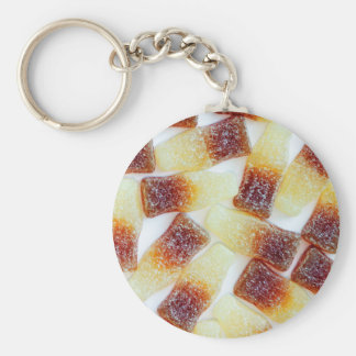 Root Beer Bottle Candy Print Keychain
