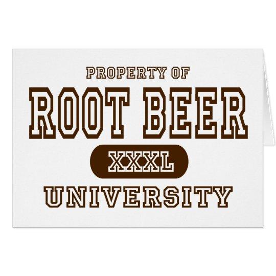 Root Beer Card