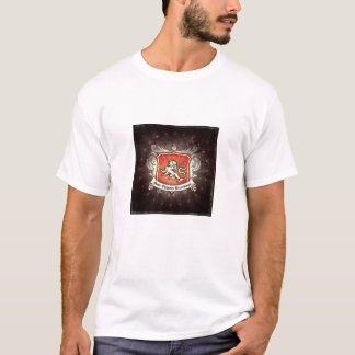 Root Beer distressed SCR logo T-Shirt