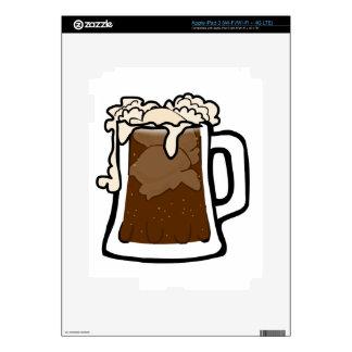Root Beer Float Decals For iPad 3