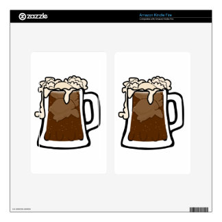Root Beer Float Decals For Kindle Fire
