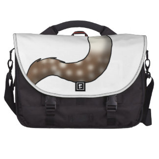 Root Beer Float Fluffy Hybrid Tail Laptop Bags