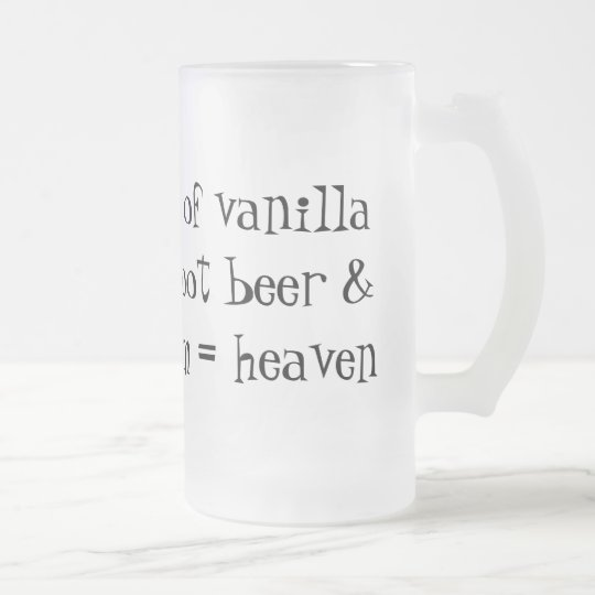 Root Beer Float Formula Mug