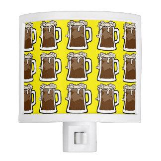 Root Beer Float Pattern Night Light