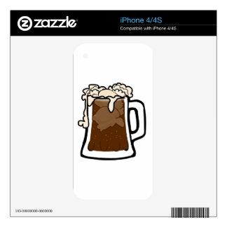 Root Beer Float Skins For iPhone 4S
