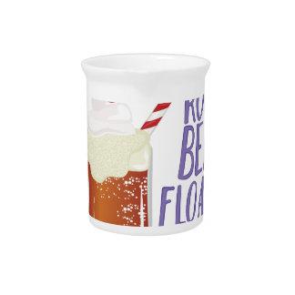 Root Beer Floatin Beverage Pitcher