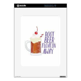 Root Beer Floatin Decals For iPad