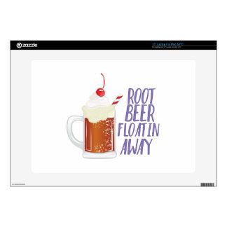 Root Beer Floatin Laptop Decals