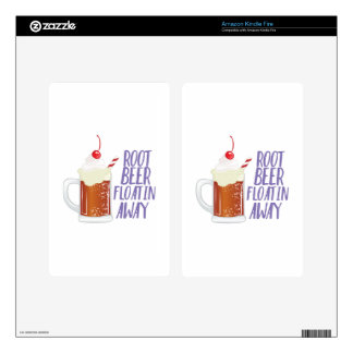 Root Beer Floatin Skins For Kindle Fire