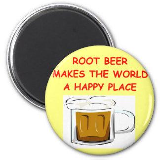 root beer refrigerator magnet