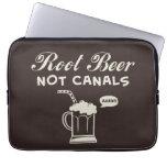 Root Beer Not Canals Computer Sleeves