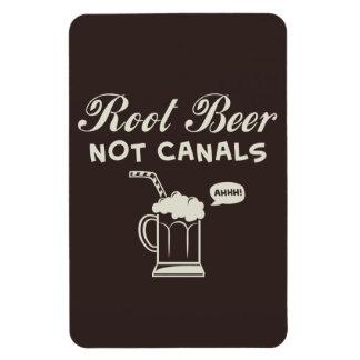 Root Beer Not Canals Magnet