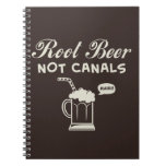 Root Beer Not Canals Spiral Notebook