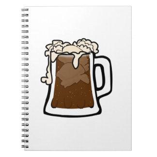 Root Beer Spiral Notebook