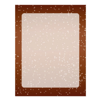 Root Beer with Tiny Bubbles Background Art Letterhead