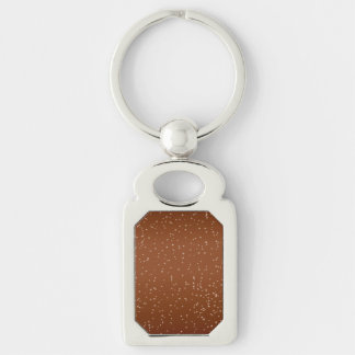 Root Beer with Tiny Bubbles Background Art Keychain