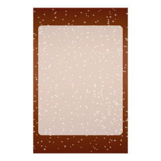 Root Beer with Tiny Bubbles Background Art Stationery