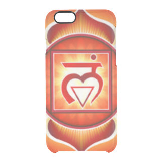 Root Chakra Clear iPhone 6/6S Case