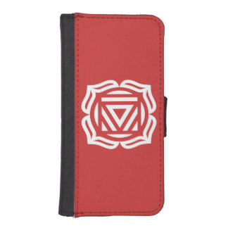 Root Chakra Energy iPhone Wallet Case iPhone 5 Wallet