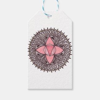Root Chakra Mandala Gift Tags