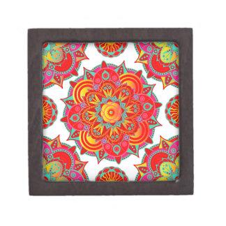 Root Chakra Mandala Jewelry Box
