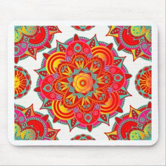 Root Chakra Mandala Mouse Pad
