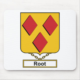 Root Family Crest Mouse Pads