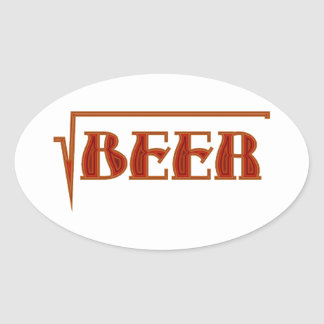 root more beer sticker