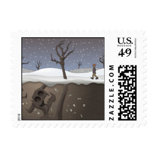 Root of All Evil Postage