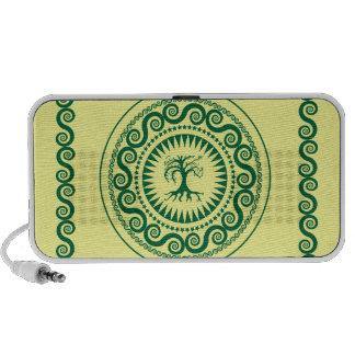 Root One Green iPod Speaker
